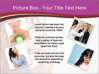 Portrait of Funny girl PowerPoint Templates - Slide 24