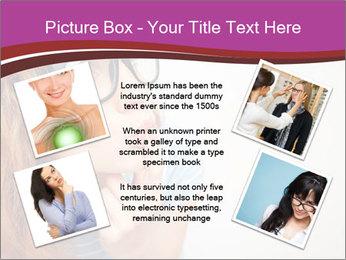 Portrait of Funny girl PowerPoint Template - Slide 24