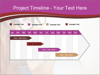 Portrait of Funny girl PowerPoint Templates - Slide 25