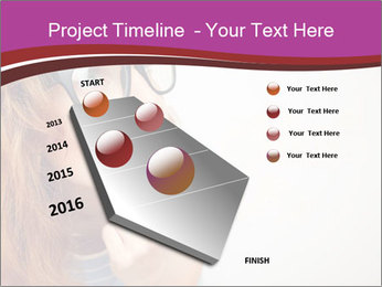 Portrait of Funny girl PowerPoint Templates - Slide 26