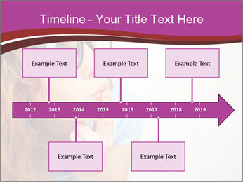 Portrait of Funny girl PowerPoint Templates - Slide 28