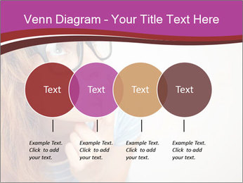 Portrait of Funny girl PowerPoint Template - Slide 32