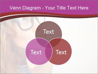 Portrait of Funny girl PowerPoint Template - Slide 33