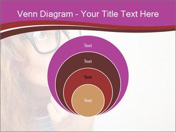 Portrait of Funny girl PowerPoint Template - Slide 34