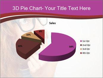 Portrait of Funny girl PowerPoint Template - Slide 35