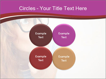 Portrait of Funny girl PowerPoint Templates - Slide 38