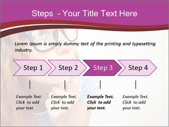 Portrait of Funny girl PowerPoint Templates - Slide 4