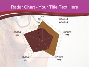Portrait of Funny girl PowerPoint Template - Slide 51