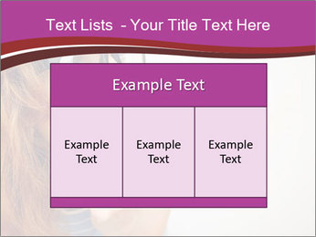 Portrait of Funny girl PowerPoint Template - Slide 59