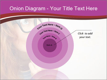 Portrait of Funny girl PowerPoint Template - Slide 61