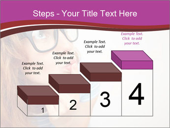 Portrait of Funny girl PowerPoint Templates - Slide 64