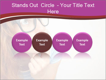 Portrait of Funny girl PowerPoint Templates - Slide 76