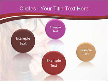 Portrait of Funny girl PowerPoint Templates - Slide 77