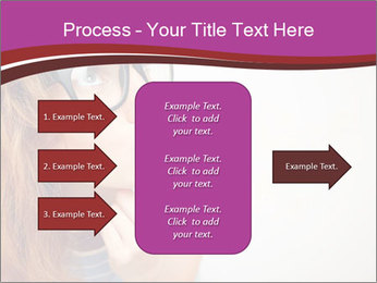Portrait of Funny girl PowerPoint Templates - Slide 85
