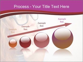 Portrait of Funny girl PowerPoint Templates - Slide 87