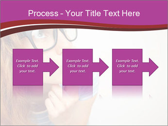 Portrait of Funny girl PowerPoint Templates - Slide 88