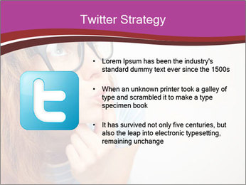 Portrait of Funny girl PowerPoint Template - Slide 9