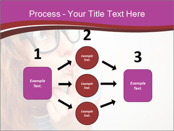 Portrait of Funny girl PowerPoint Templates - Slide 92