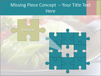 Cabbage stuffed PowerPoint Template - Slide 45