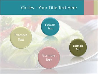 Cabbage stuffed PowerPoint Template - Slide 77