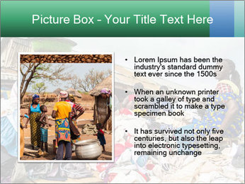 African Village People PowerPoint Template - Slide 13