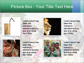 African Village People PowerPoint Template - Slide 14