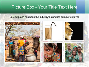 African Village People PowerPoint Template - Slide 19