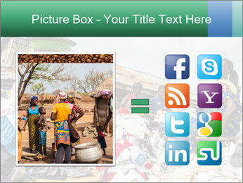 African Village People PowerPoint Template - Slide 21