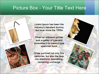 African Village People PowerPoint Template - Slide 24