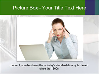 Stressed Woman In Car PowerPoint Template - Slide 15