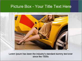 Stressed Woman In Car PowerPoint Templates - Slide 16