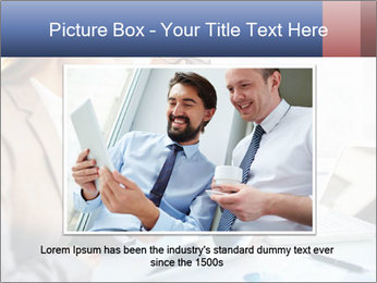 Smiling Colleagues PowerPoint Template - Slide 15