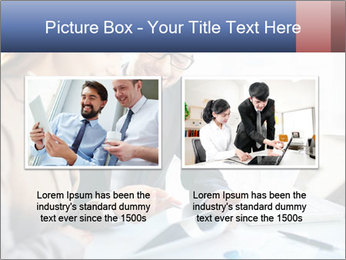 Smiling Colleagues PowerPoint Template - Slide 18