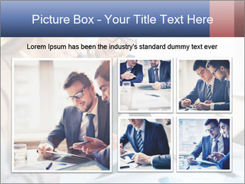Smiling Colleagues PowerPoint Template - Slide 19