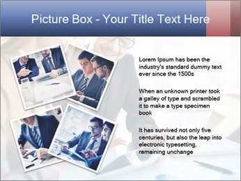 Smiling Colleagues PowerPoint Template - Slide 23