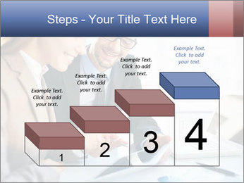 Smiling Colleagues PowerPoint Template - Slide 64