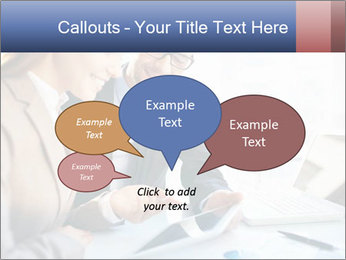 Smiling Colleagues PowerPoint Templates - Slide 73