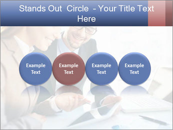 Smiling Colleagues PowerPoint Template - Slide 76