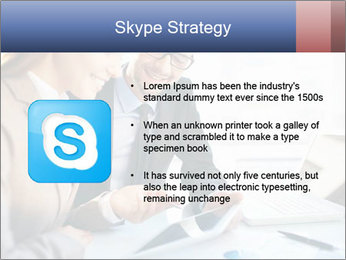 Smiling Colleagues PowerPoint Template - Slide 8