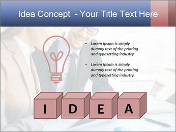 Smiling Colleagues PowerPoint Template - Slide 80