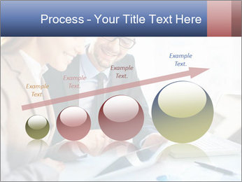 Smiling Colleagues PowerPoint Templates - Slide 87
