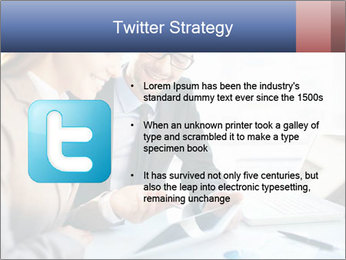 Smiling Colleagues PowerPoint Template - Slide 9