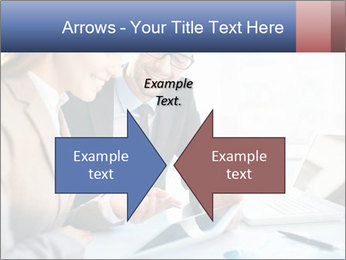 Smiling Colleagues PowerPoint Templates - Slide 90