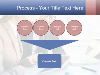 Smiling Colleagues PowerPoint Templates - Slide 93