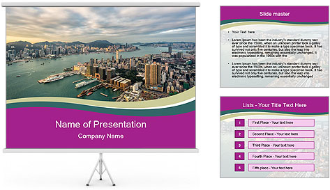 City Observation PowerPoint Template