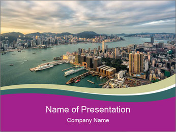 City Observation PowerPoint Template - Slide 1
