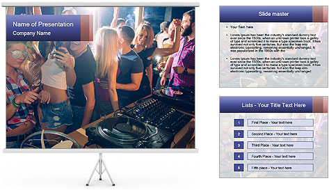 Fun Party PowerPoint Template