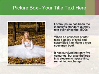 Woman Rests On Grass PowerPoint Template - Slide 13