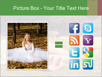 Woman Rests On Grass PowerPoint Template - Slide 21