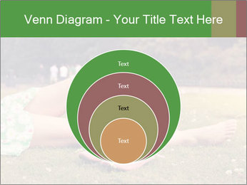 Woman Rests On Grass PowerPoint Template - Slide 34